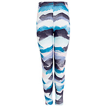 Buy Kin by John Lewis Girls' Mountain Leggings, Blue/White Online at johnlewis.com