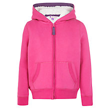 Buy John Lewis Girl Zip Through Hoodie Online at johnlewis.com