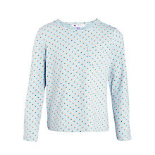 Buy John Lewis Girl Geo Print Long Sleeve T-Shirt Online at johnlewis.com
