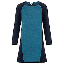 Buy Kin by John Lewis Girls' Knit Jumper Dress, Green Online at johnlewis.com