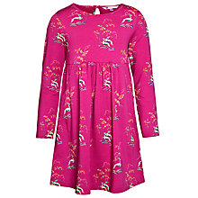 Buy John Lewis Girl Jersey Dress, Pink Online at johnlewis.com