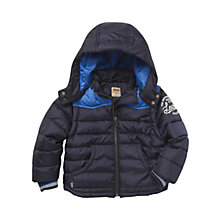 Buy Levi's Boys' Laurent Padded Jacket, Navy Online at johnlewis.com