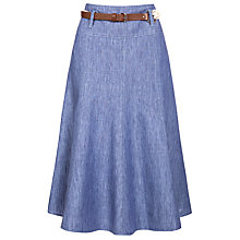 Buy Gerry Weber Belted Linen Skirt Online at johnlewis.com