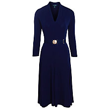 Buy Lauren Ralph Lauren Lorraine Dress, Regal Navy Online at johnlewis.com