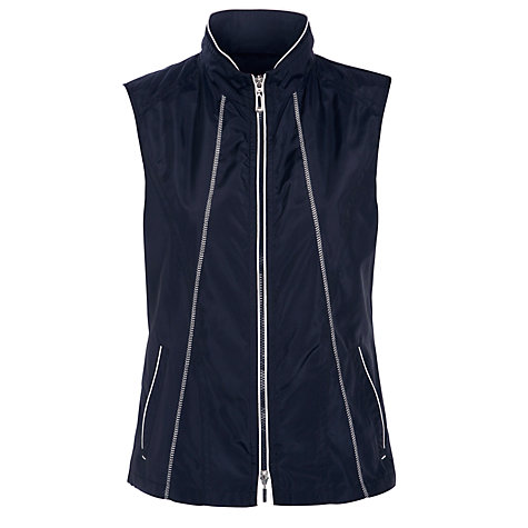 Buy Gerry Weber Basic Gilet, Navy Online at johnlewis.com