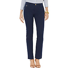 Buy Lauren Ralph Lauren Hunter Trousers, Regal Navy Online at johnlewis.com
