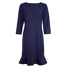 Buy Lauren Ralph Lauren Flared Hem Dress, Regal Navy Online at johnlewis.com