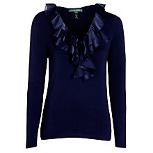 Buy Lauren Ralph Lauren Markey Jumper, Regal Navy Online at johnlewis.com