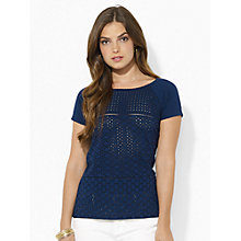 Buy Lauren Ralph Lauren Knitted Top Online at johnlewis.com