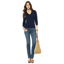 Buy Lauren Ralph Lauren Breanne Sweater, Regal Navy Online at johnlewis.com