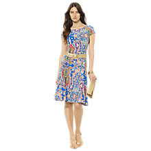 Buy Lauren Ralph Lauren Brooklina Dress, Royal Multi Online at johnlewis.com