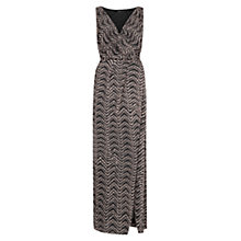 Buy Mango Monochrome Maxi Dress, Black Online at johnlewis.com
