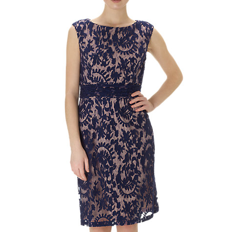 Buy Adrianna Papell Lace Sheath Dress, Night Online at johnlewis.com