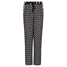 Buy Mango Printed Flowy Trousers Online at johnlewis.com