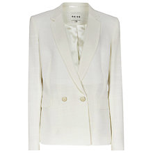 Buy Reiss Monza Blazer, Cream Online at johnlewis.com