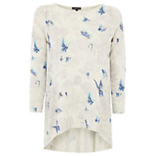 Buy Warehouse Butterfly Pointelle Jumper, Beige Online at johnlewis.com