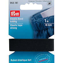 Buy Prym Loom Elastic, 10mm, White Online at johnlewis.com