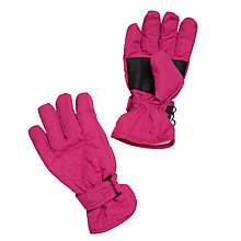 Buy John Lewis Children's Star Ski Gloves, Pink Online at johnlewis.com