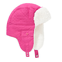 Buy John Lewis Girl Star Ski Trapper Hat, Pink Online at johnlewis.com