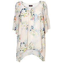Buy Phase Eight Rosalie Floral Blouse, Pink/Ivory Online at johnlewis.com