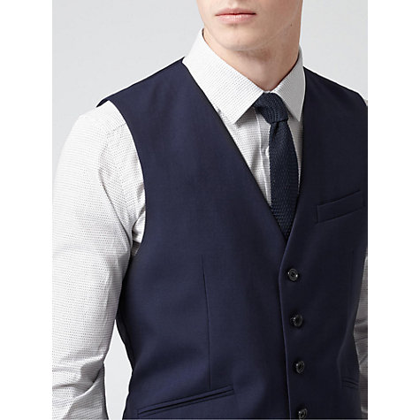 Buy Reiss Garda Peak Lapel 3-Piece Suit, Dark Navy Online at johnlewis.com