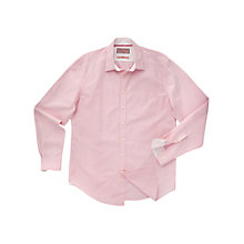 Buy Thomas Pink Longitude Check Long Sleeve Shirt, Pink/White Online at johnlewis.com