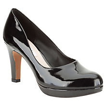 Buy Clarks Crisp Kendra Patent Leather Court Shoes Online at johnlewis.com