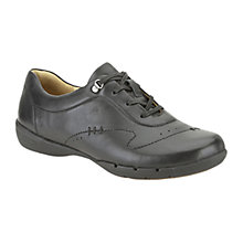 Buy Clarks Un Halsie Leather Trainers Online at johnlewis.com