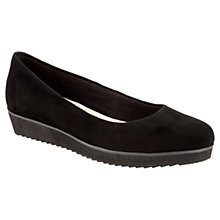 Buy Clarks Compass Zone Shoes, Black Online at johnlewis.com