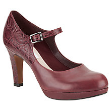 Buy Clarks Angie Kendra Strap Court Shoes Online at johnlewis.com