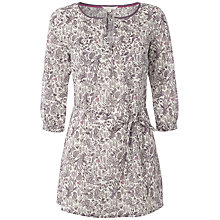Buy White Stuff Batik Birds Tunic, Dark Thistle Online at johnlewis.com