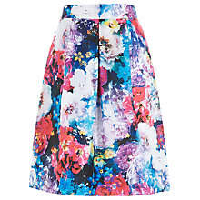 Buy Kaliko Frida Ruched Skirt, Multi Online at johnlewis.com