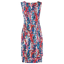 Buy Kaliko Inez Print Dress, Red multi Online at johnlewis.com