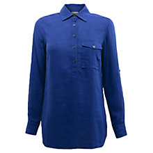Buy East Roma Patch Pocket Shirt, Blue Online at johnlewis.com