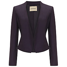Buy Havren Grosgrain Jacket, Purple Online at johnlewis.com