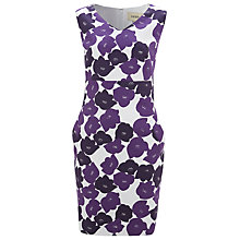 Buy Havren Deep Pocket Detail Floral Dress, Purple Combo Online at johnlewis.com
