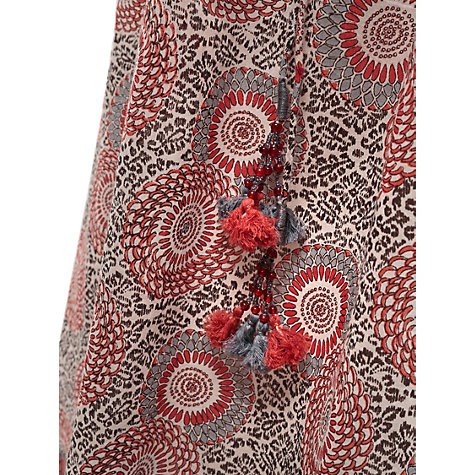 Buy East Anokhi Ido Short Dress, Pearl Online at johnlewis.com