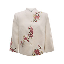 Buy East Victoire Japonica Jacket, Pearl Online at johnlewis.com