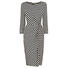 Buy Oasis Stripe Twist Dress, Blue Multi Online at johnlewis.com