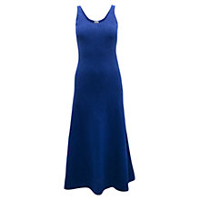 Buy East Seersucker Maxi Dress, Blue Online at johnlewis.com