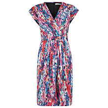 Buy Kaliko Inez Wrap Dress, Red Multi Online at johnlewis.com