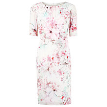 Buy Kaliko Magnolia Floral Dress, Multi Pink Online at johnlewis.com