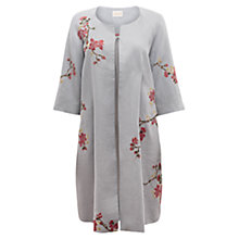 Buy East Victoire Japonica Long Coat, Mist Online at johnlewis.com