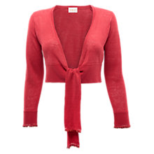 Buy East Beaded Shrug, Rouge Online at johnlewis.com
