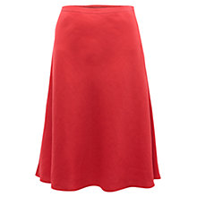 Buy East Victoire Linen Full Skirt, Rouge Online at johnlewis.com