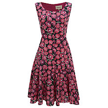 Buy Havren Carnation Print Dress, Pink Carnation Online at johnlewis.com