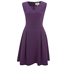 Buy Havren Fit And Flare Dress, Bright Purple Online at johnlewis.com