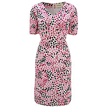 Buy Havren Silk-blend Tulip Dress, Bubblegum Online at johnlewis.com