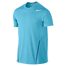 Buy Nike Power UV Crew Neck T-Shirt, Blue Online at johnlewis.com