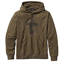 Buy Patagonia Lightweight Hooded Monk Sweatshirt, Khaki Online at johnlewis.com